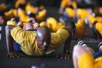 ćwiczenia fizyczne - pompki